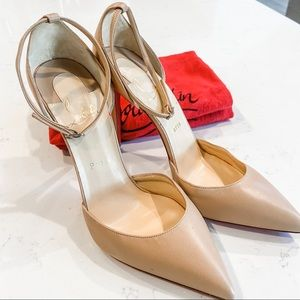 Christian Louboutin Uptown d'Orsay 100 nude